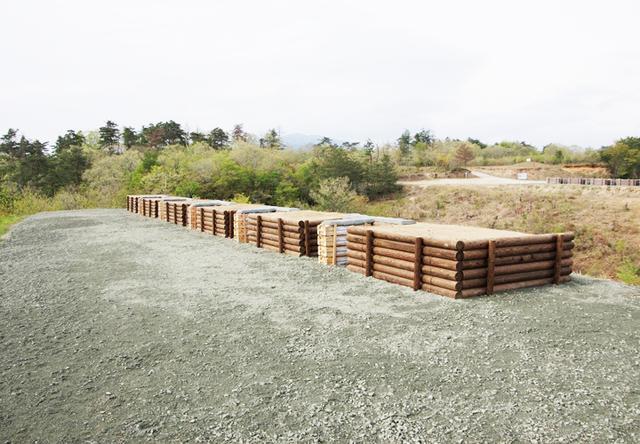 画像3: 春季演習場整備に36普連 訓練施設の機能を回復|伊丹駐屯地
