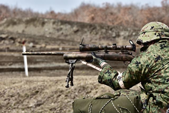 画像: 狙撃銃