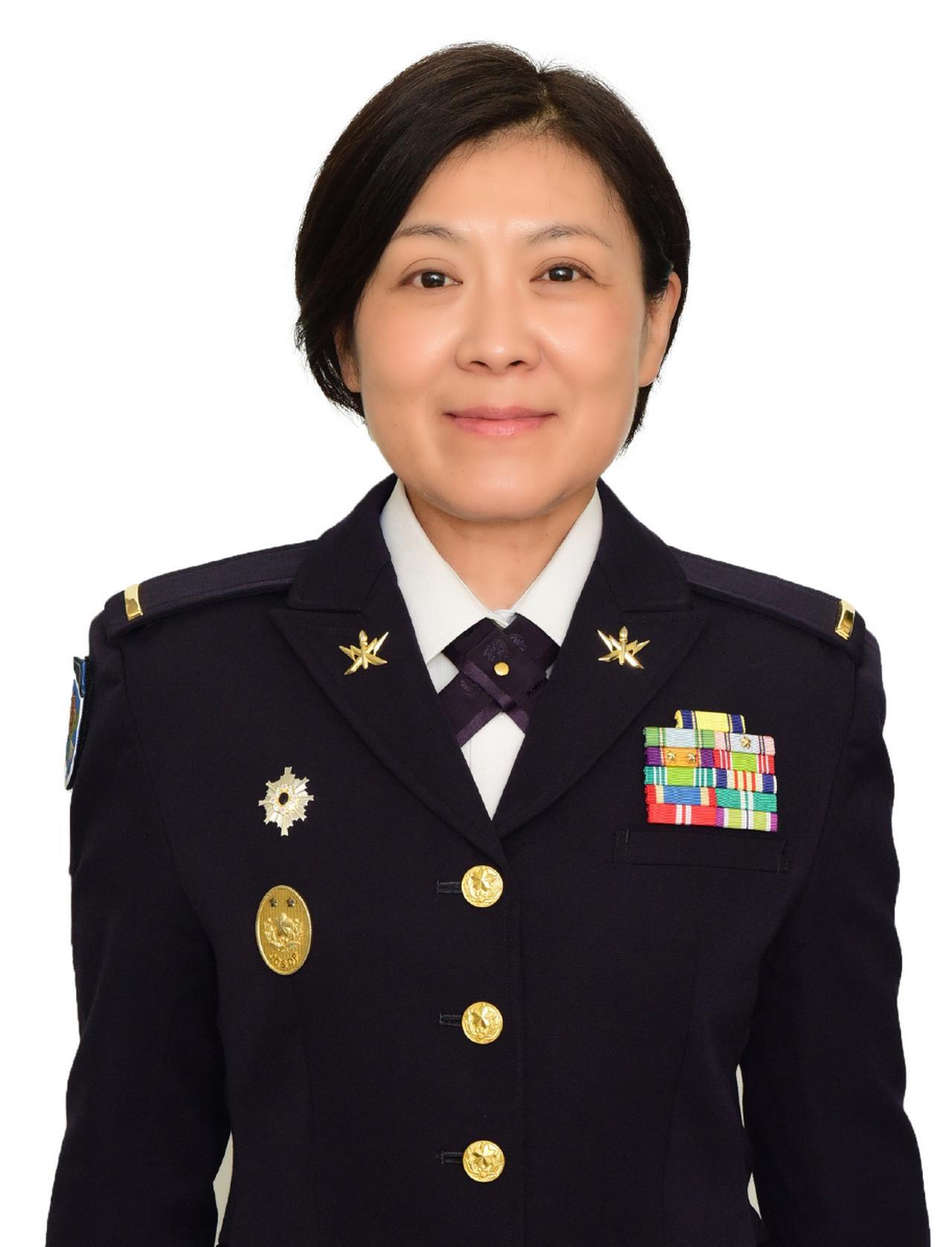 画像: 15旅団最先任上級曹長として活躍する蛯原寛子准陸尉