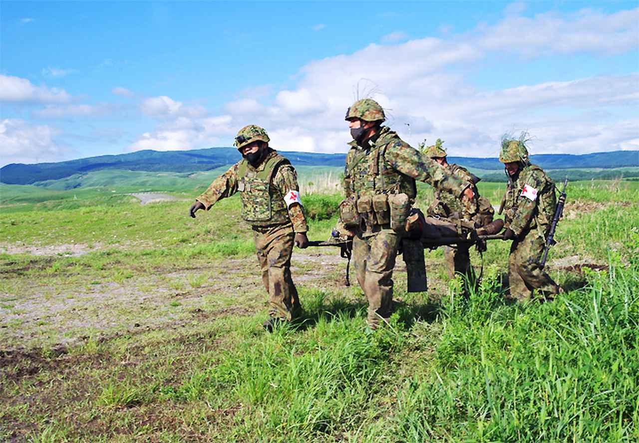 画像5: 42即機連 1中隊、補給・衛生両小隊訓練検閲|北熊本駐屯地