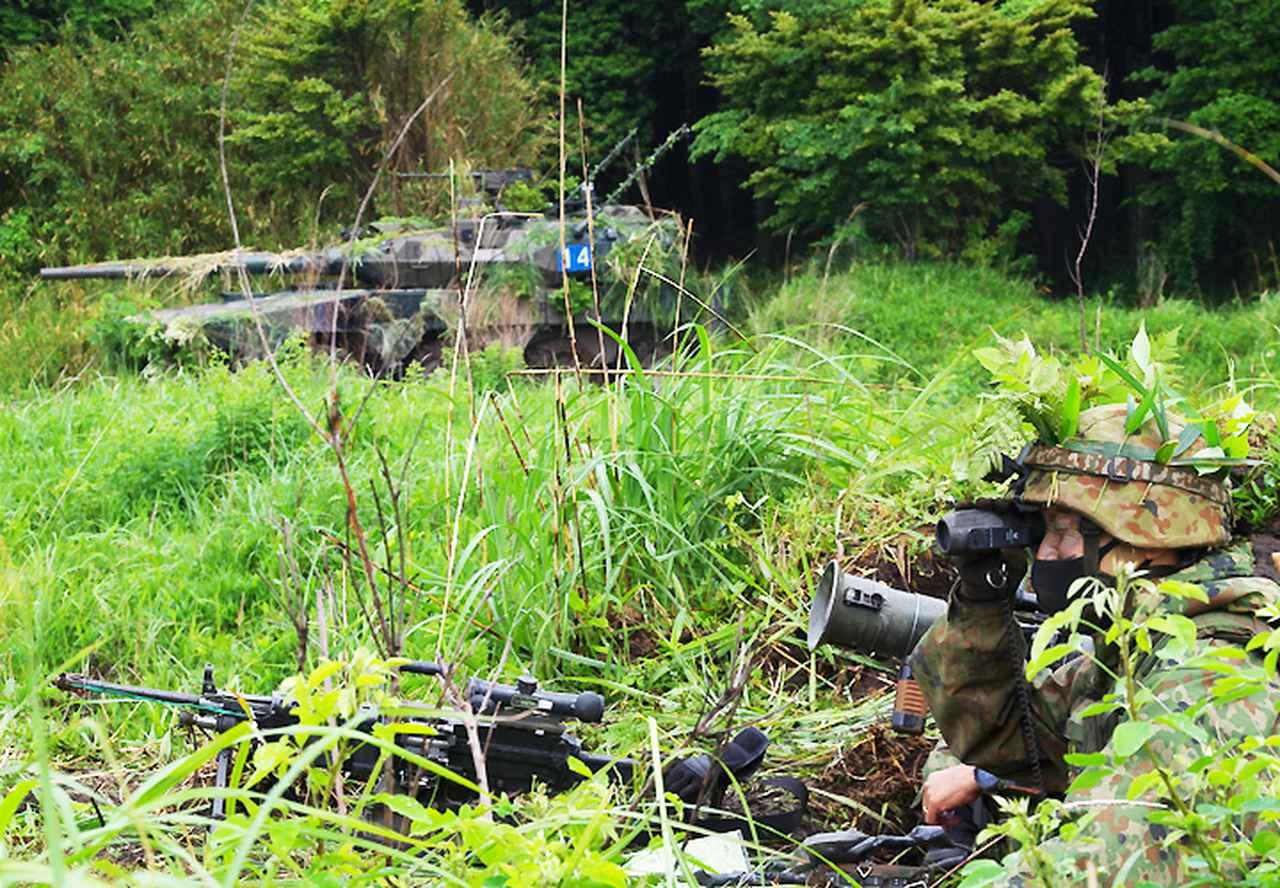 画像3: 42即機連 1中隊、補給・衛生両小隊訓練検閲|北熊本駐屯地