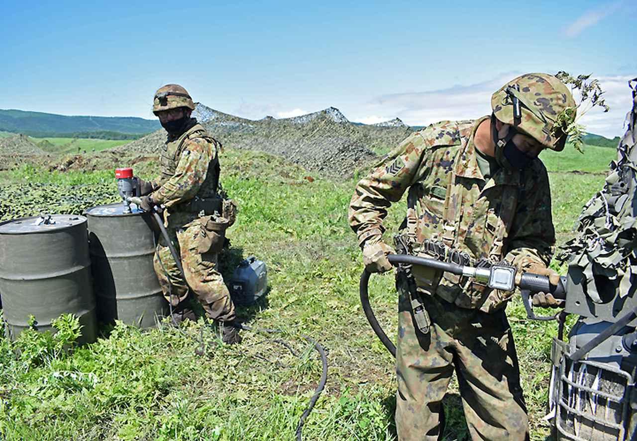 画像4: 42即機連 1中隊、補給・衛生両小隊訓練検閲|北熊本駐屯地