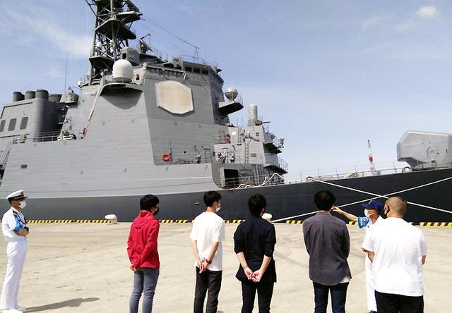 画像3: 若者が横須賀基地見学「ますます興味が湧いた」|茨城地本