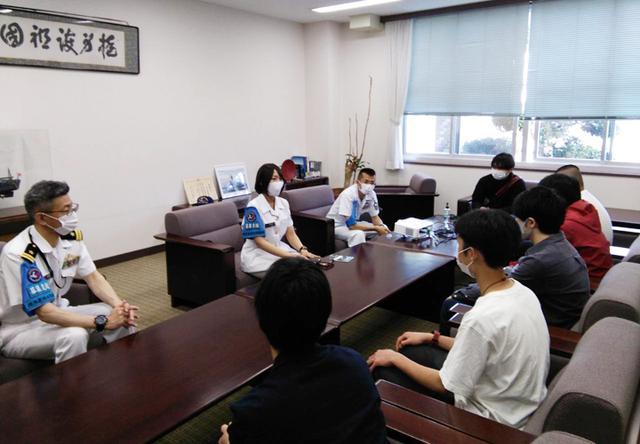 画像2: 若者が横須賀基地見学「ますます興味が湧いた」|茨城地本