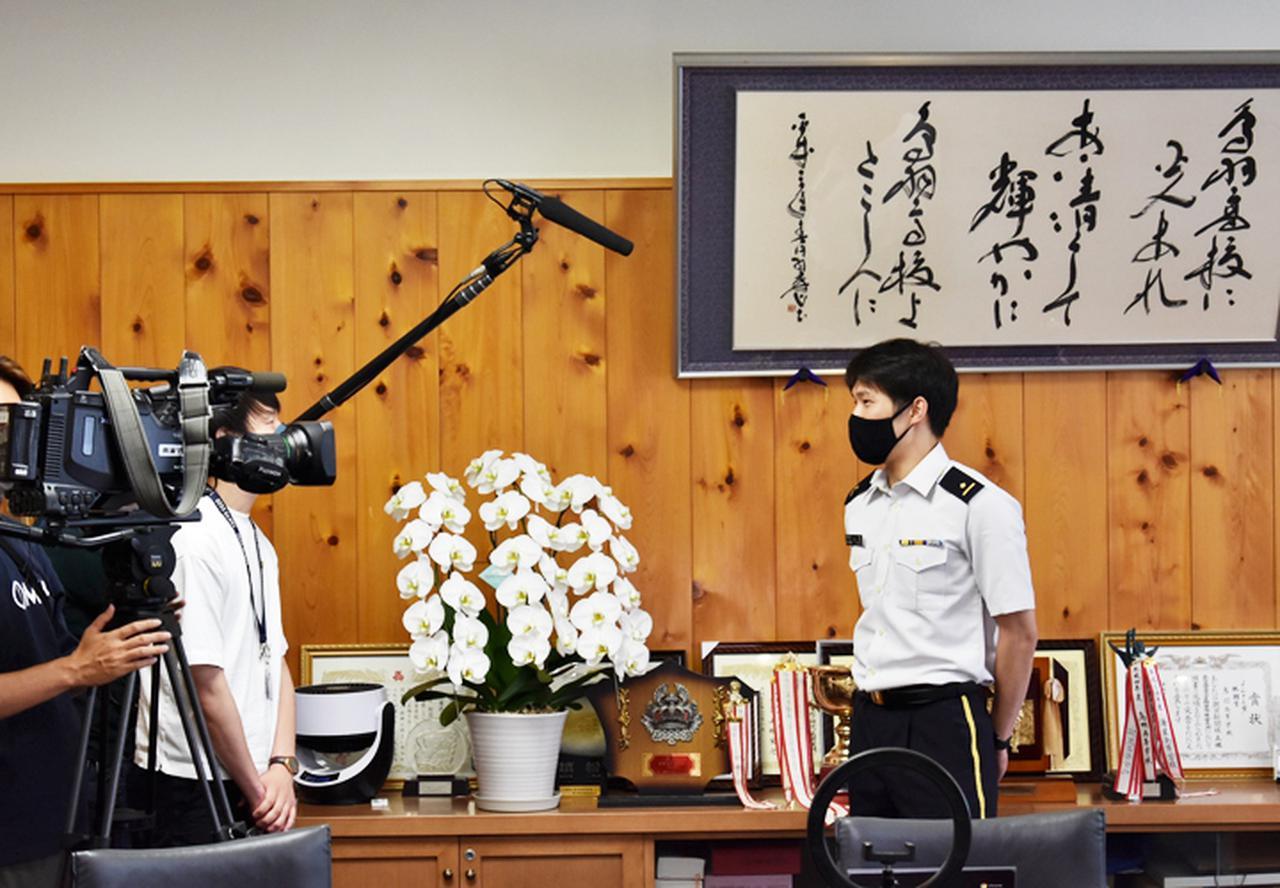 画像7: 東京五輪出場内定の山田3尉が地本・母校を訪問|三重地本