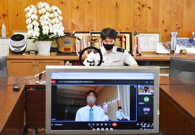 画像4: 東京五輪出場内定の山田3尉が地本・母校を訪問|三重地本