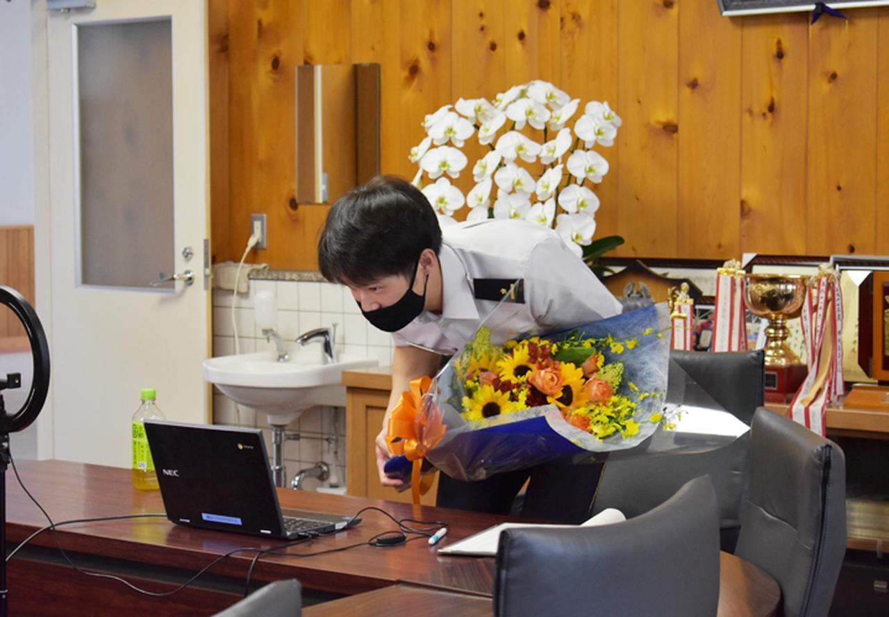 画像5: 東京五輪出場内定の山田3尉が地本・母校を訪問|三重地本