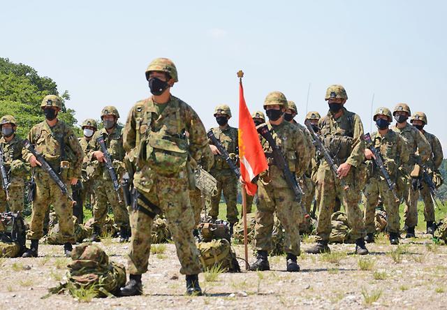画像: 訓練部隊