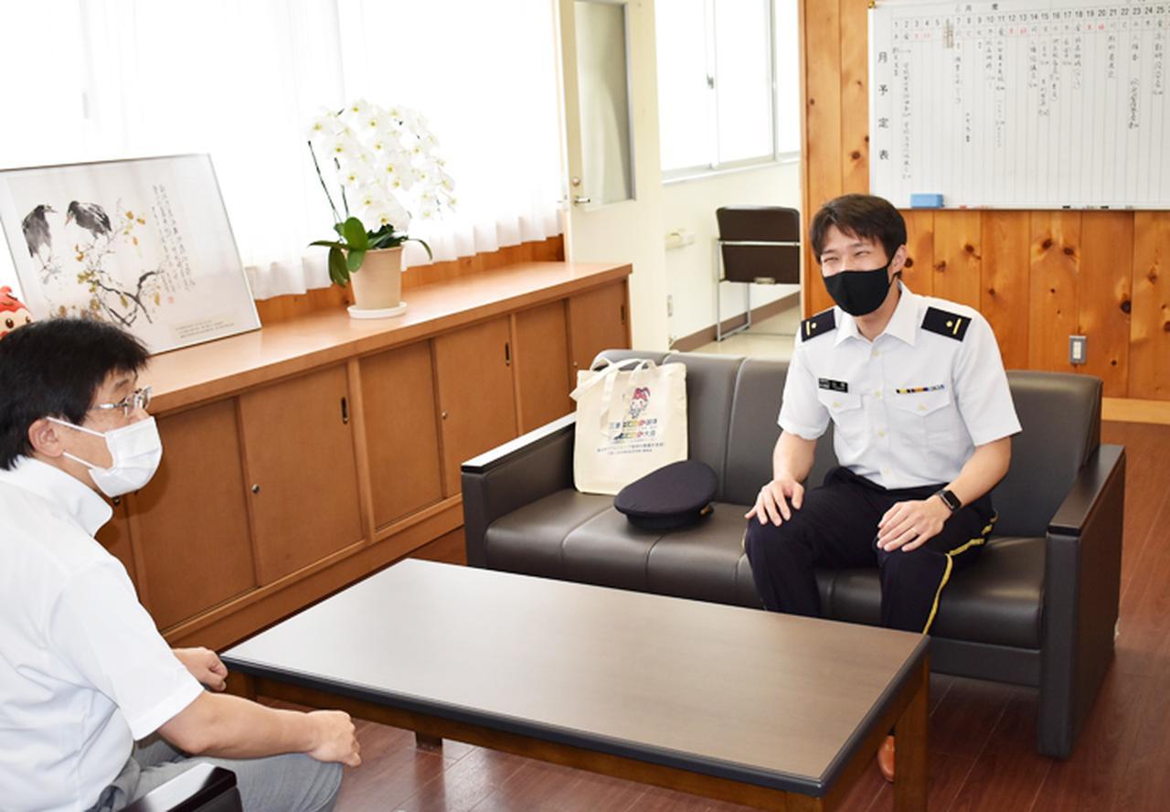 画像6: 東京五輪出場内定の山田3尉が地本・母校を訪問|三重地本