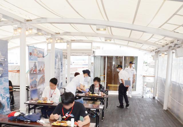 画像2: 特務艇「はしだて」を特別公開 1年8カ月ぶりに名古屋港へ 愛知地本