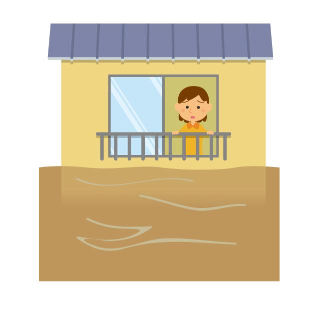 画像: 目の前に土砂が迫ってきてる!さあどうする?