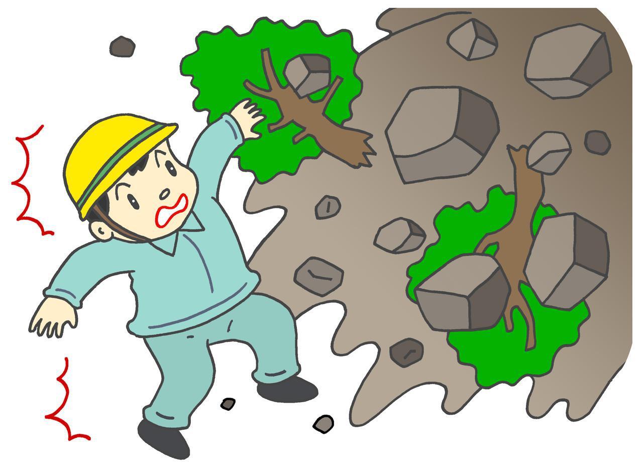 画像: 土砂災害に巻き込まれたら?