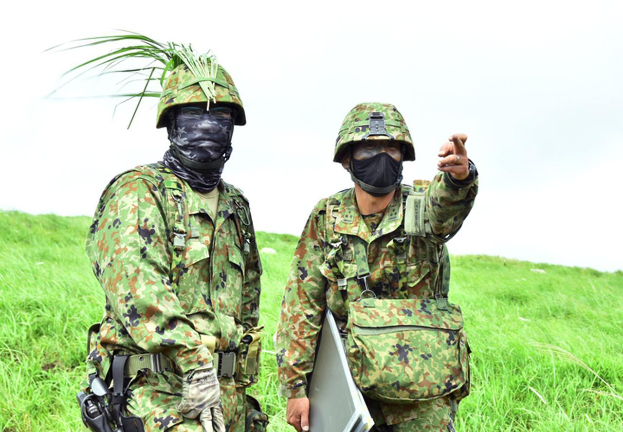 画像2: 12普連が連隊検閲を受閲 敵侵略阻止し任務完遂|国分駐屯地