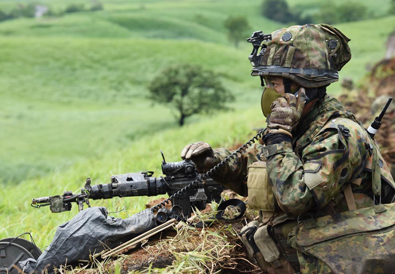 画像4: 12普連が連隊検閲を受閲 敵侵略阻止し任務完遂|国分駐屯地
