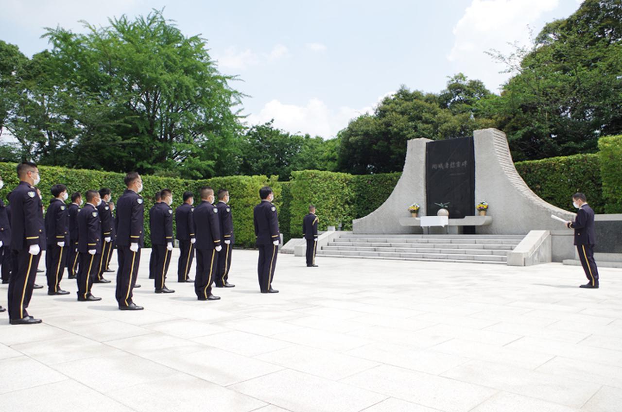 画像: 警務隊本部(殉職隊員追悼)市ヶ谷