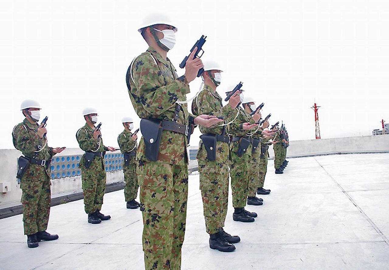 画像: 西部方面警務隊第136地区警務隊(警務点検)那覇