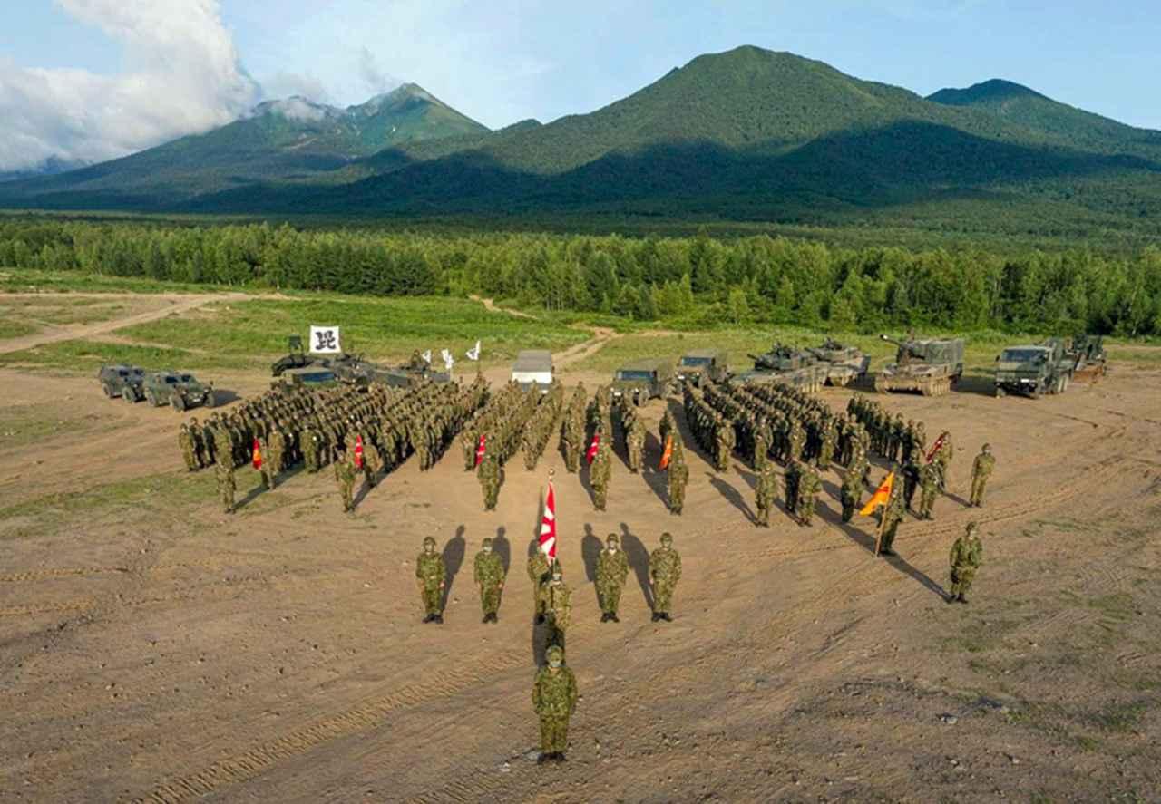 画像: 総合戦闘射撃(配属協同部隊を含む)集合写真