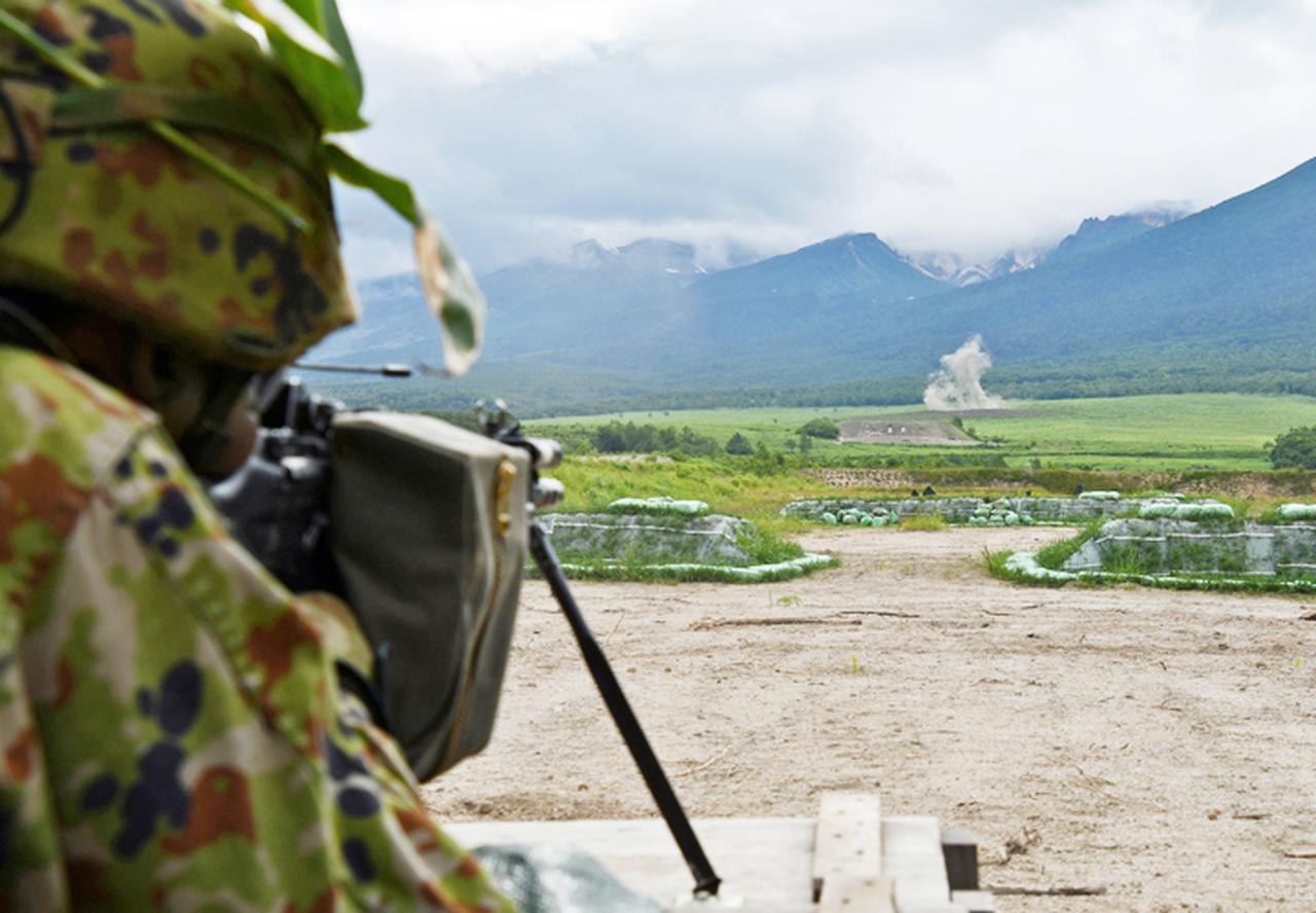 画像: 小銃射撃(ナンバー中隊)