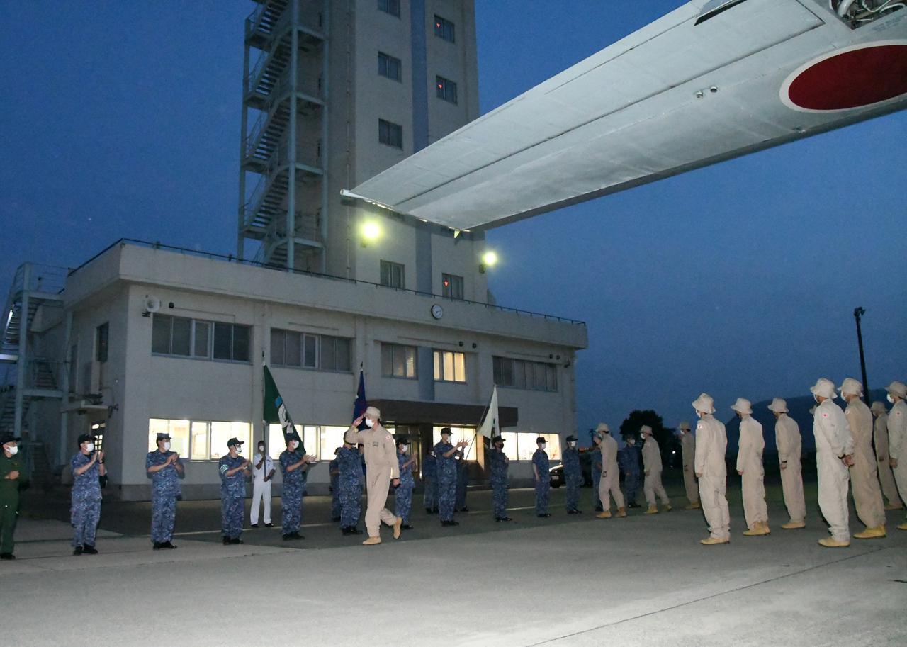 画像3: 43次派遣海賊対処行動航空隊が帰国
