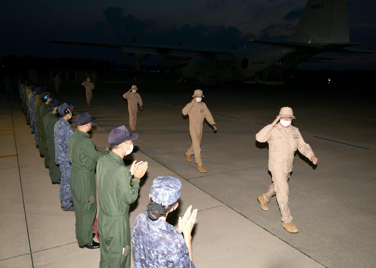 画像: 海上自衛隊2航空群群ツイッターより twitter.com