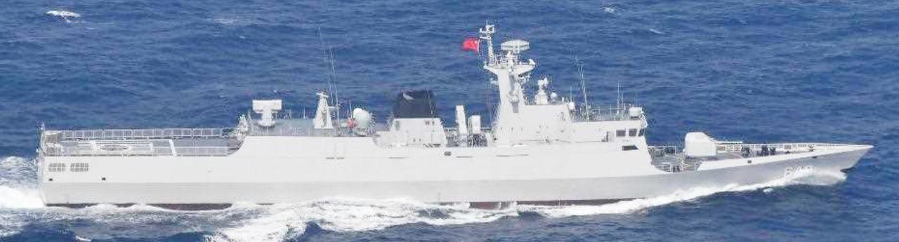 画像: ジャンダオ級小型フリゲート(649) 統合幕僚監部 報道発表資料より