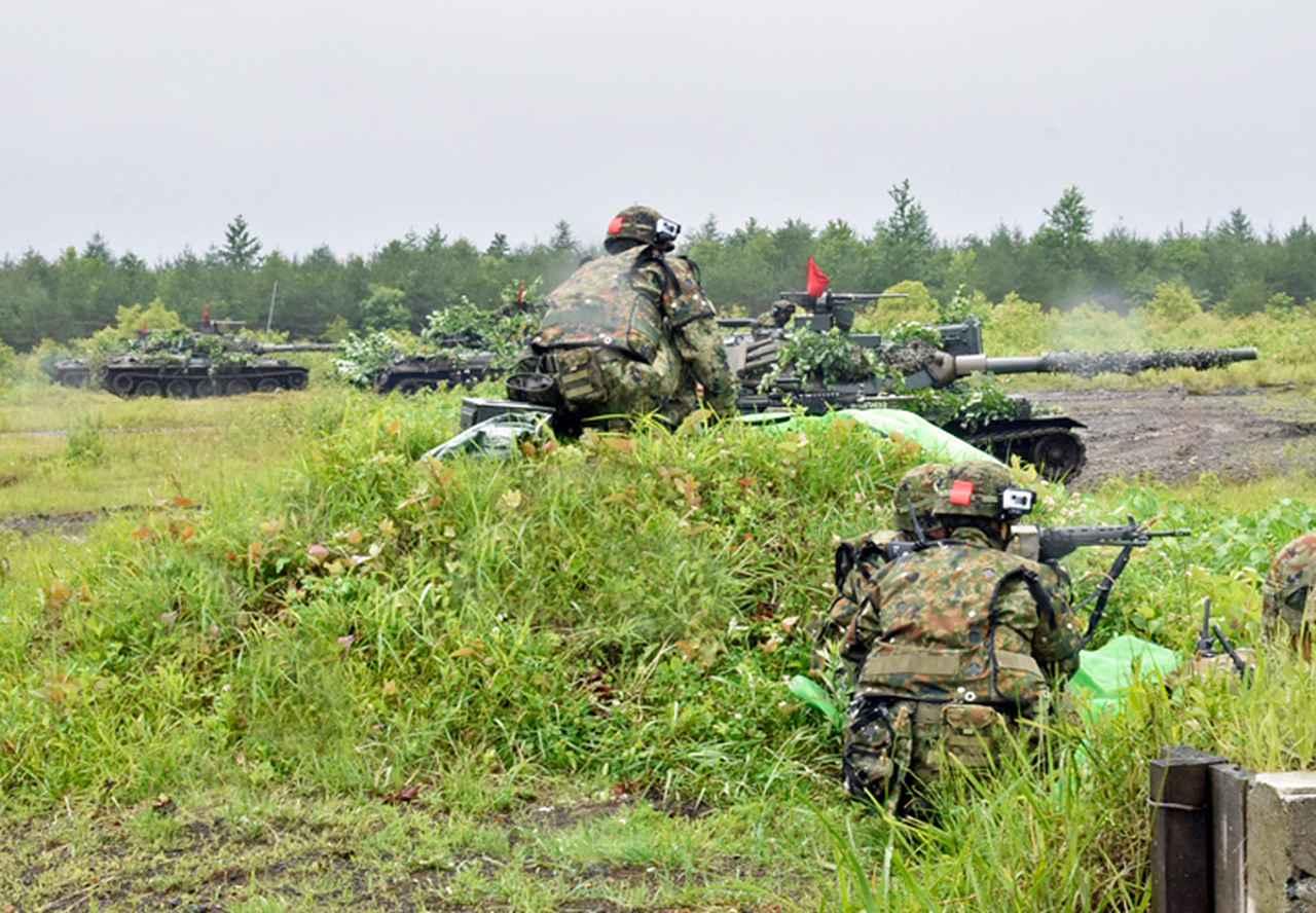 画像: 配属小銃小隊との連携