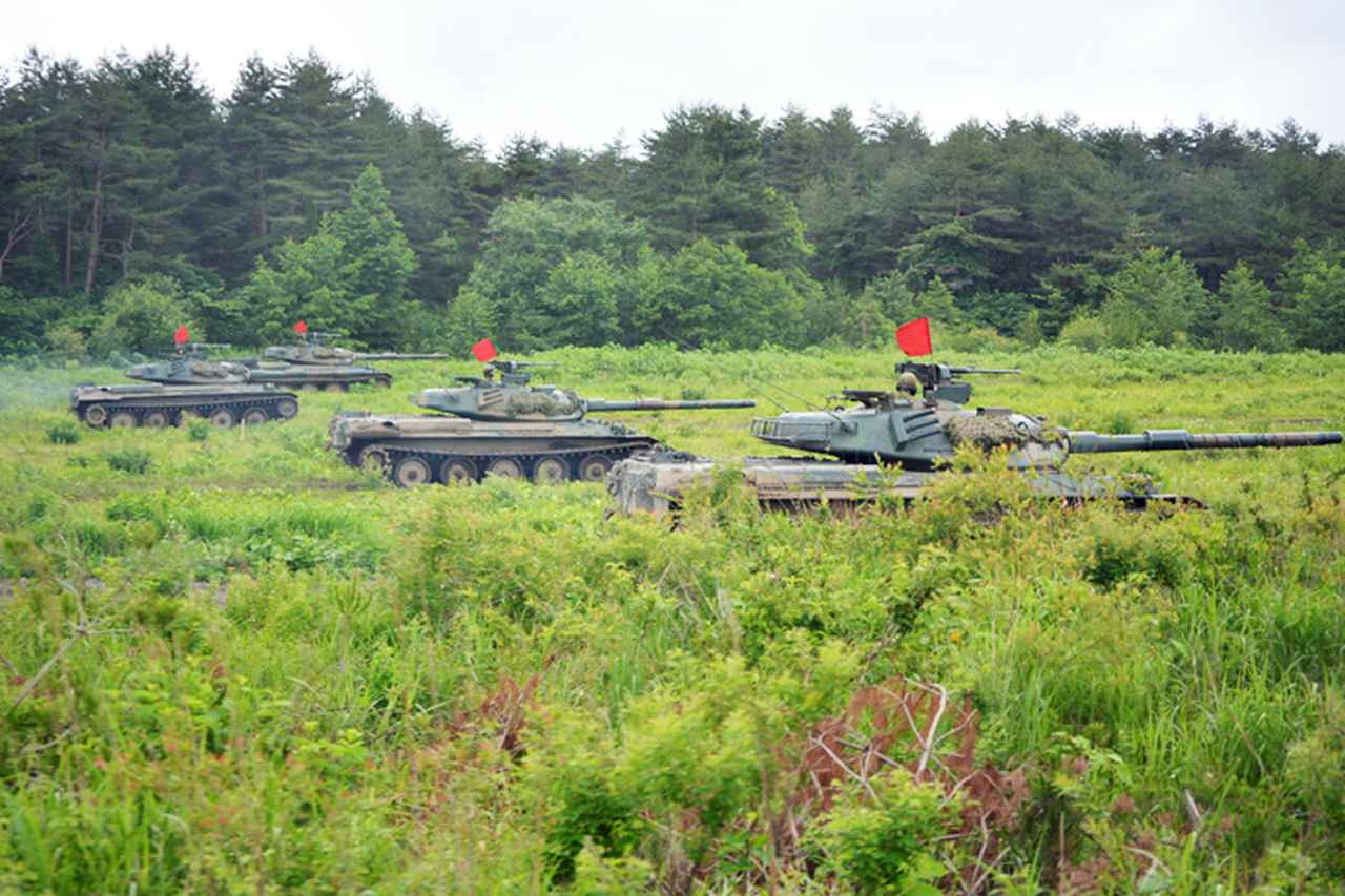 画像: 増強戦車中隊による逆襲戦闘