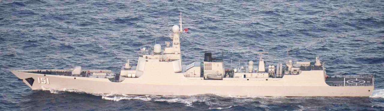 画像: ルーヤンⅡ級ミサイル駆逐艦(151)