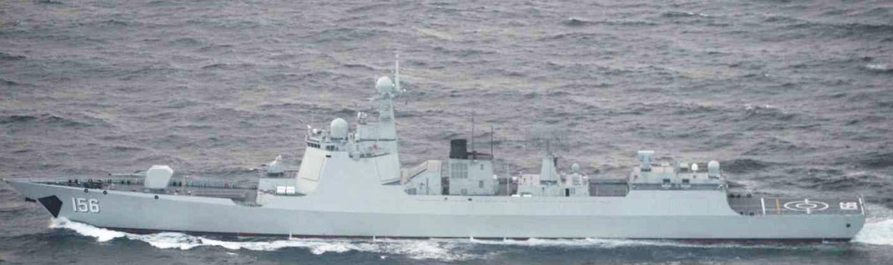 画像: ルーヤンⅢ級ミサイル駆逐艦(156)