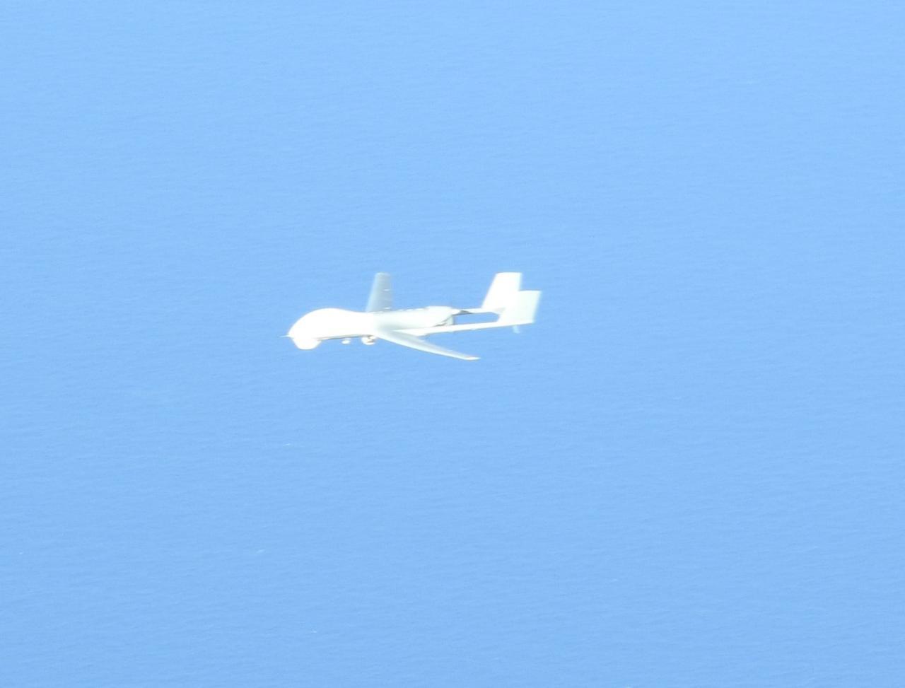 画像: 対象機(BZK-005)