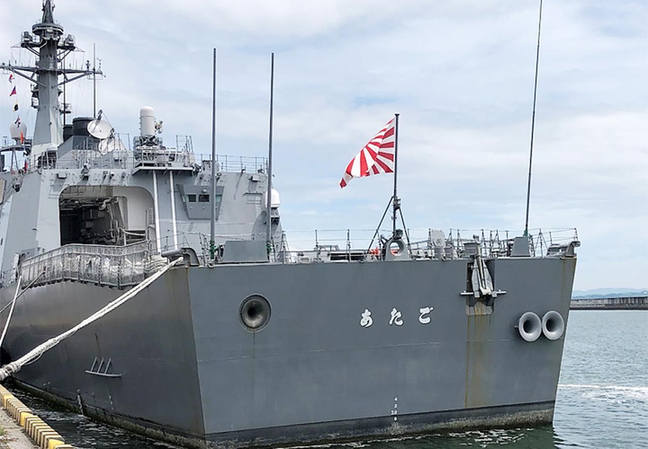 画像5: 基地モニター、駐屯地モニターが護衛艦「あたご」を研修|玖珠駐屯地