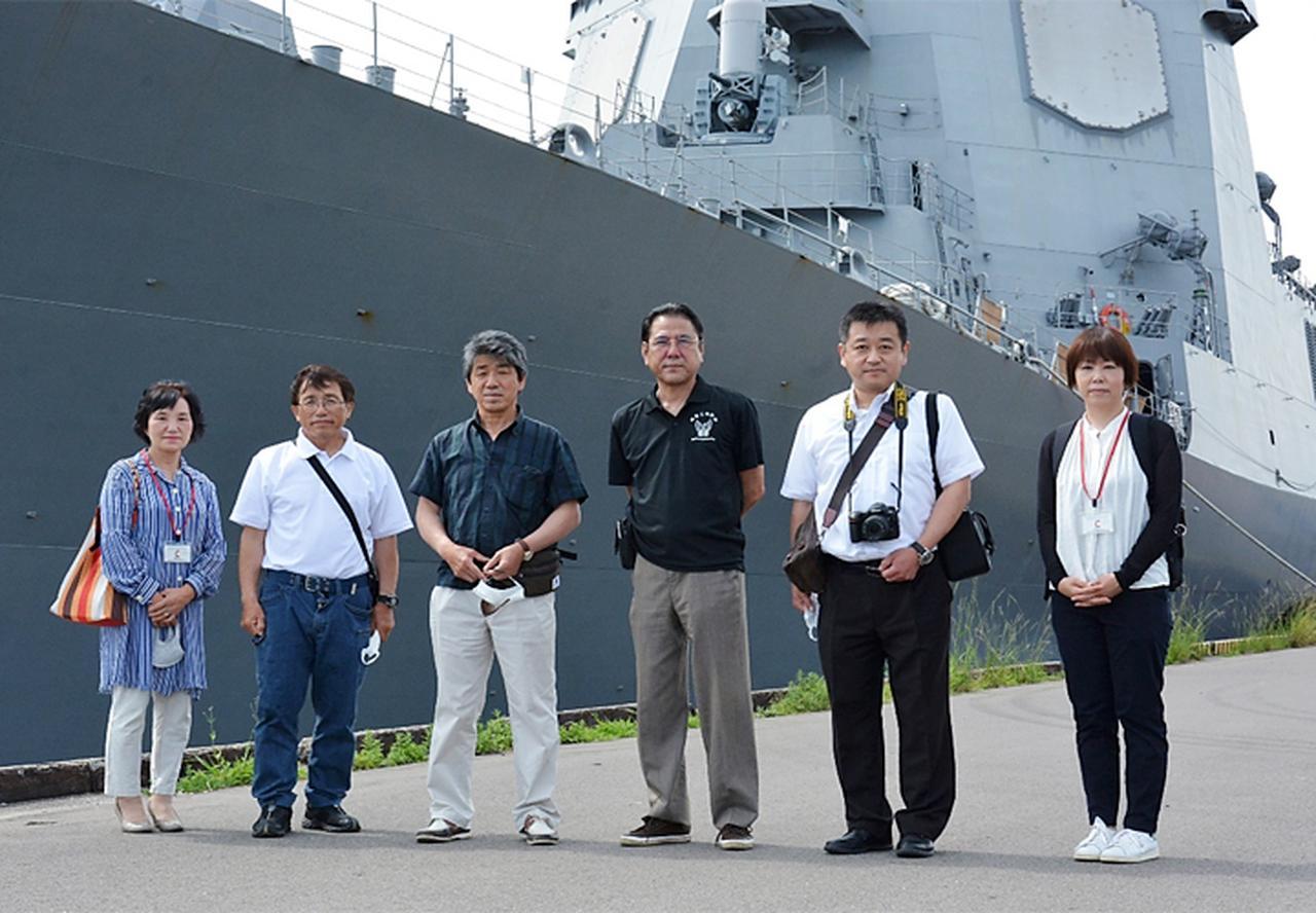 画像3: 基地モニター、駐屯地モニターが護衛艦「あたご」を研修|玖珠駐屯地