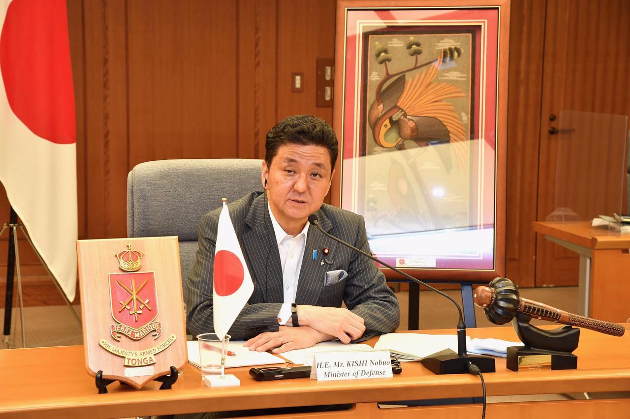 画像: 太平洋島嶼国国防大臣会合で共同声明