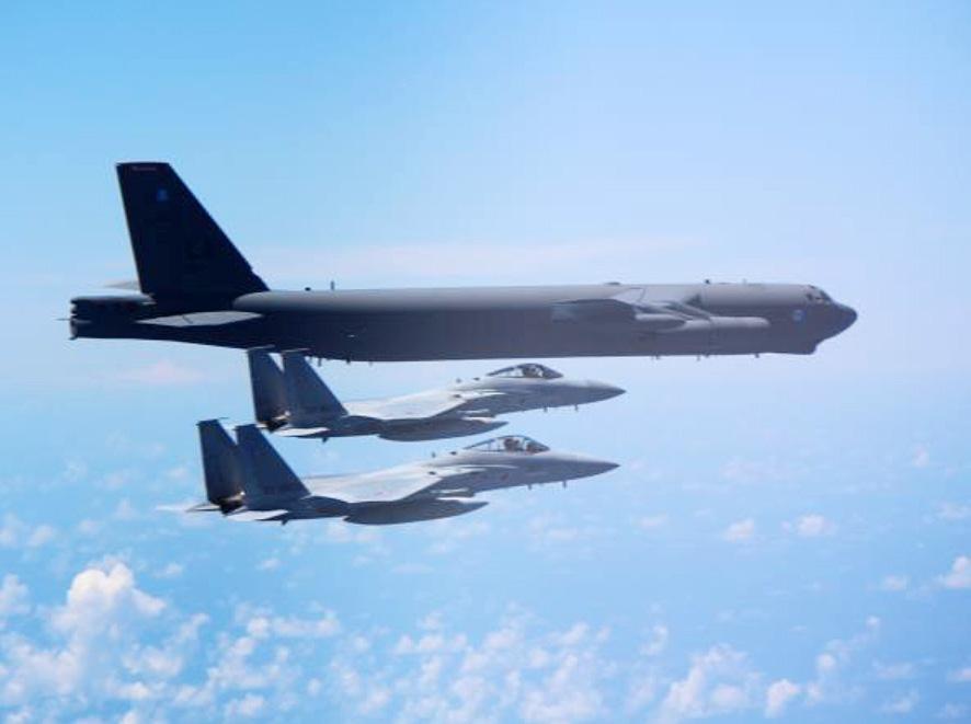 画像: 空自が米空軍と要撃戦闘などを訓練