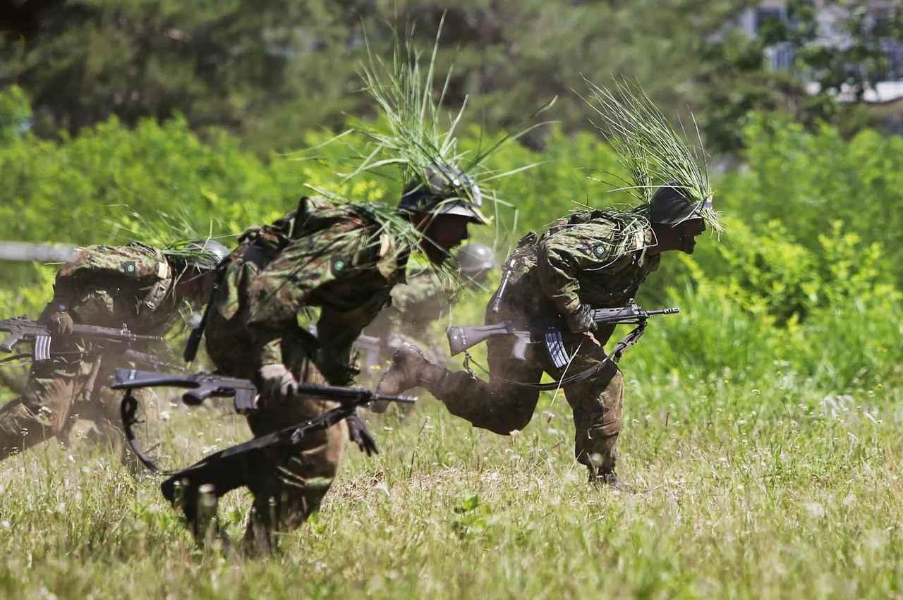 画像: 訓練イメージ(陸上自衛隊Googleフォトより)