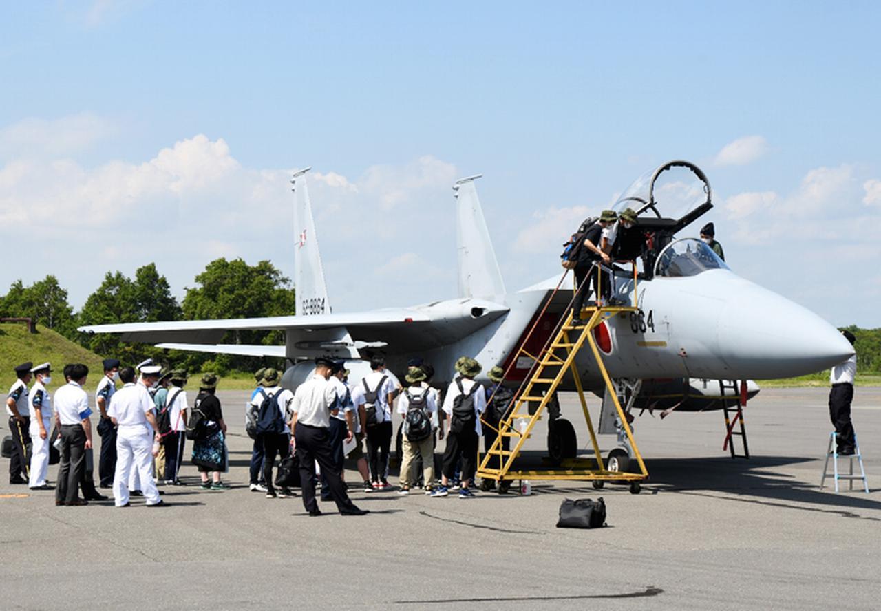 画像2: 陸海空自衛隊を満喫! 北部方面隊主催で総合広報|旭川地本