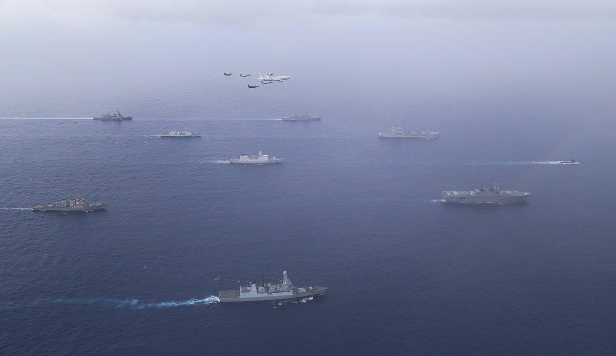 画像: 空自が英と初めて日本周辺海空域で訓練