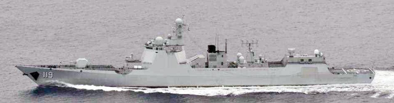 画像: ルーヤンⅢ級ミサイル駆逐艦(119)