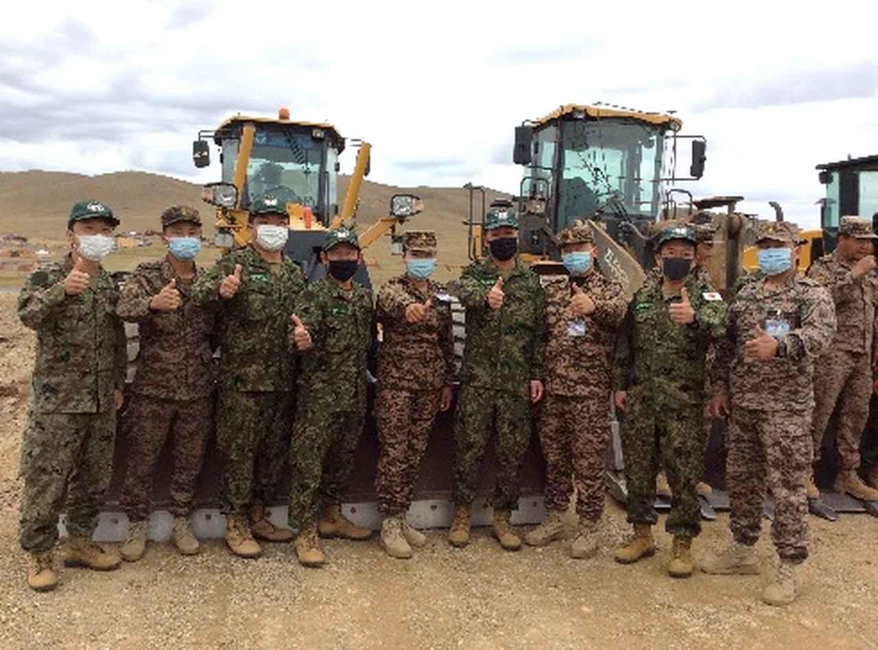 画像: 陸自のモンゴルでの能力構築支援が終了