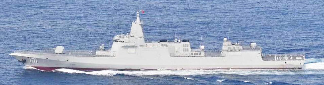 画像: レンハイ級ミサイル駆逐艦(101)