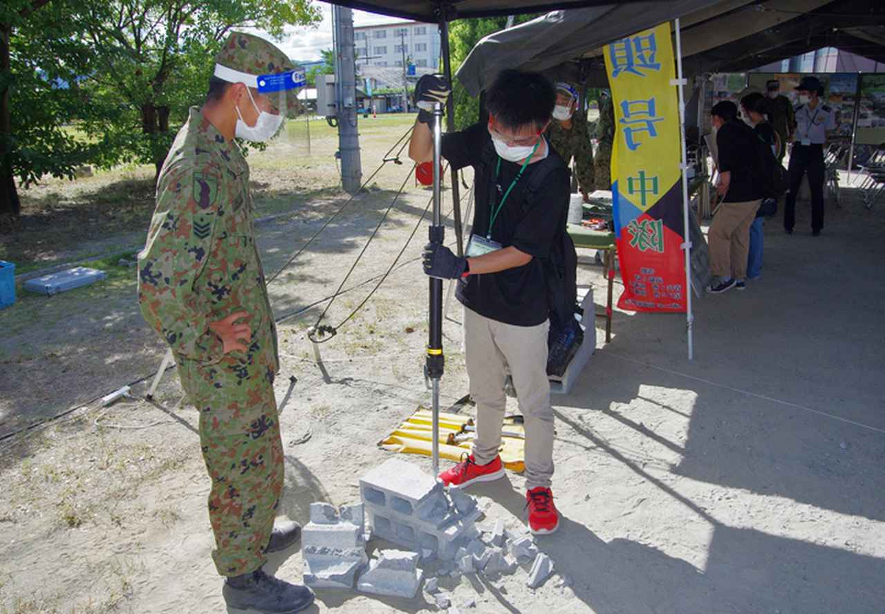 画像7: 3師団募集広報の日 人気職種No.1は「普通科」|伊丹駐屯地