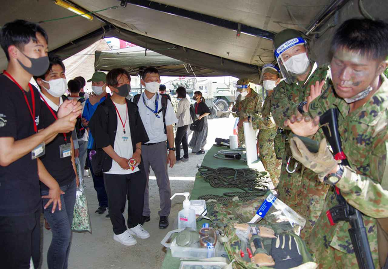 画像13: 3師団募集広報の日 人気職種No.1は「普通科」|伊丹駐屯地