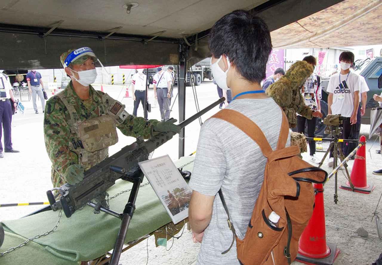 画像3: 3師団募集広報の日 人気職種No.1は「普通科」|伊丹駐屯地