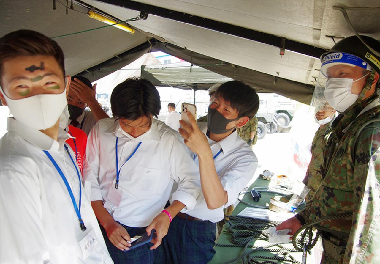 画像14: 3師団募集広報の日 人気職種No.1は「普通科」|伊丹駐屯地