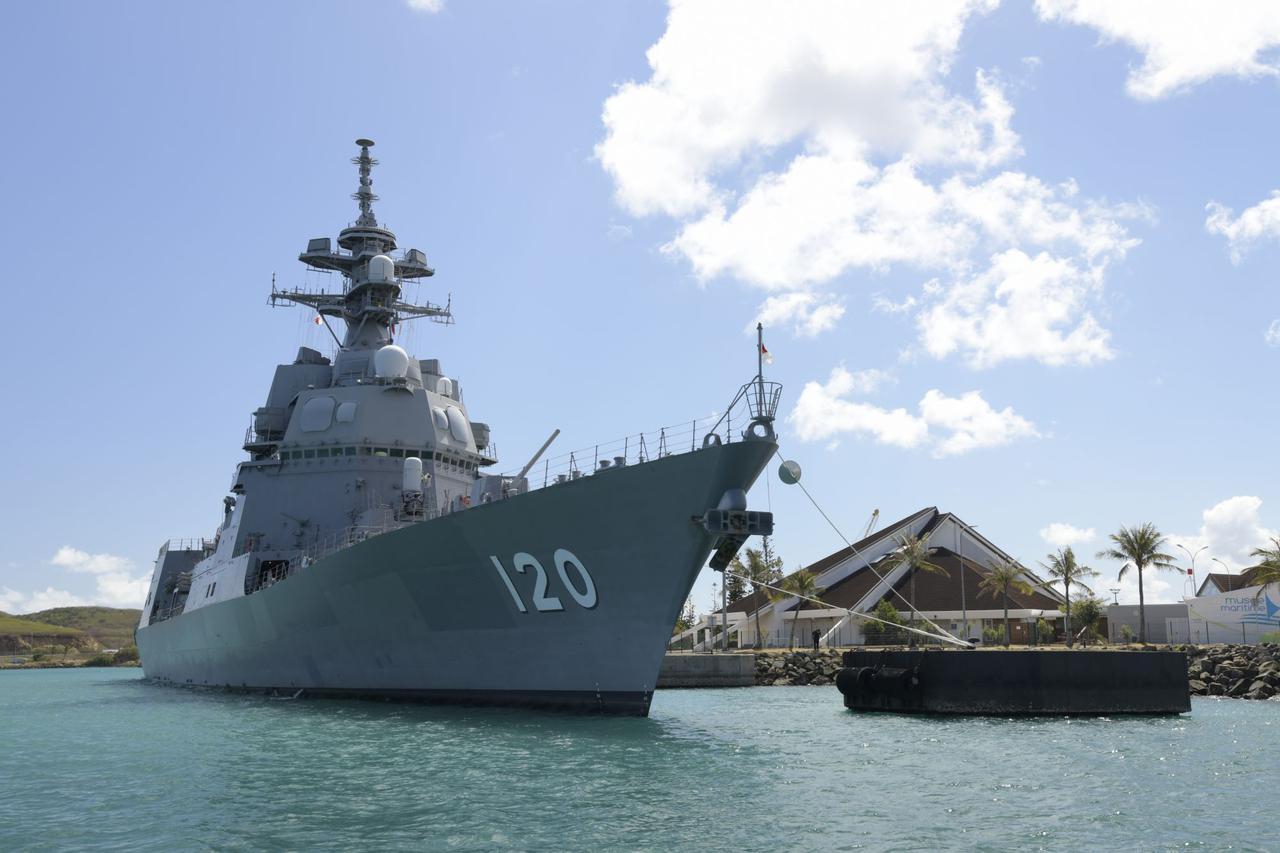 画像2: 護衛艦「しらぬい」がニューカレドニアに寄港