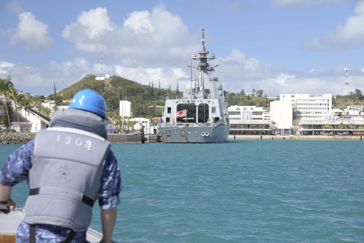 画像3: 護衛艦「しらぬい」がニューカレドニアに寄港