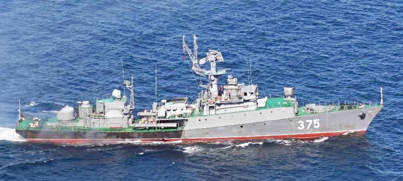 画像: グリシャⅤ級小型フリゲート艦(375)