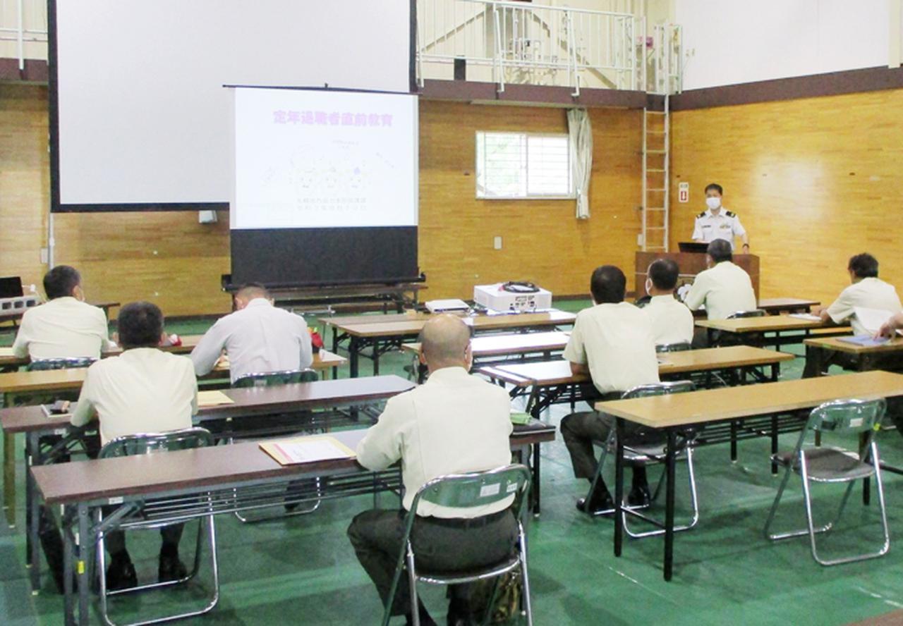 画像: センター長による教育