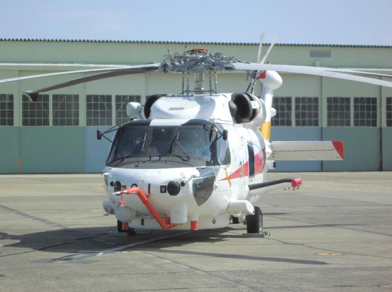 画像: 回転翼哨戒機(能力向上型) 防衛省発表資料より