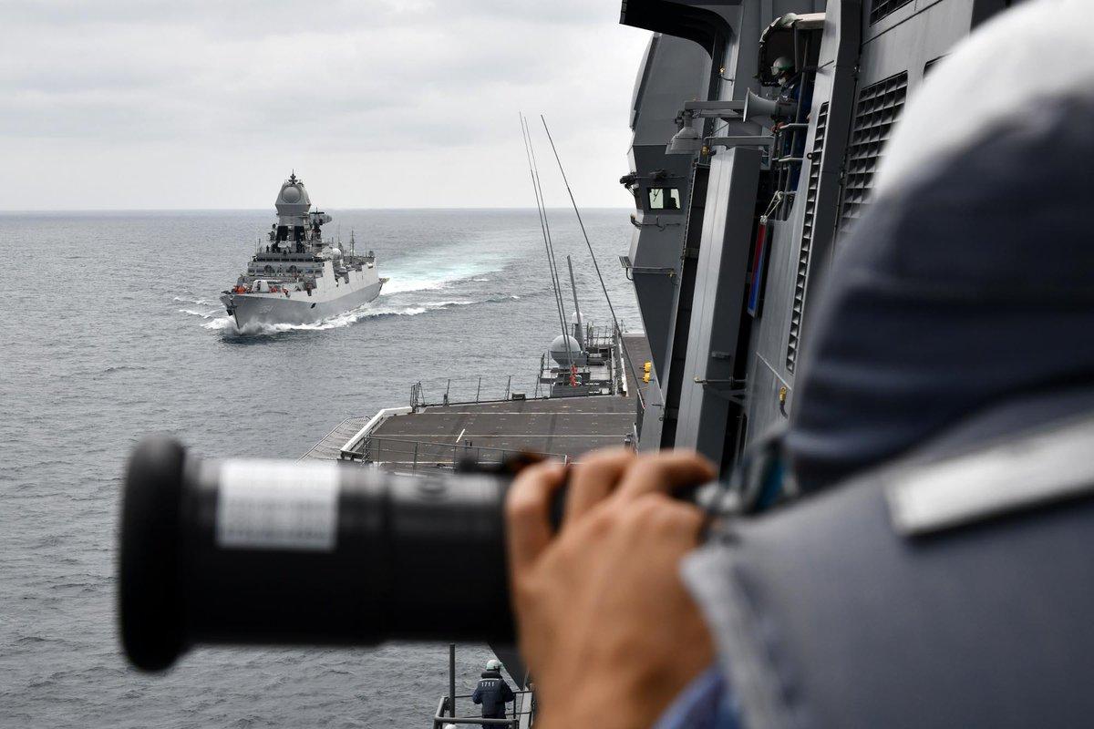 画像2: 海自がインド海軍との連携を強化